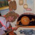 Тётушка Луша и колобок Ванюша